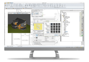 arcadia bim architekturdesigner 2D 3D Fenster