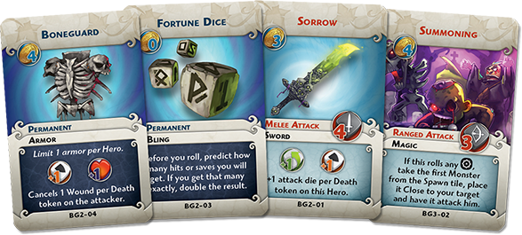 Beyond the Grave new cards