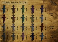 {A} Voodoo Doll Gatcha Vendor