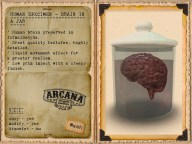 {A} Human Specimen - Brain in a Jar Vendor