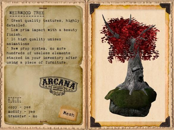 {A} Weirwood Tree Vendor