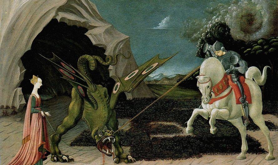 Saint-Georges vainc le dragon