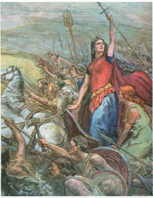 Boudicca last battle - Boudicca, la reine bretonne qui fit trembler l'empire romain