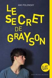 Le Secret de Grayson / titre provisoire : Je ne suis pas un garçon