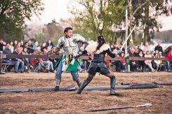 Schwertkampf im Duell
