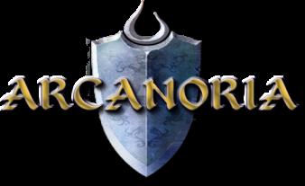 Arcanoria MMORPG logo
