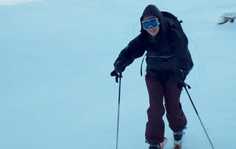 Easy skinning on Introduction to Ski Touring courses
