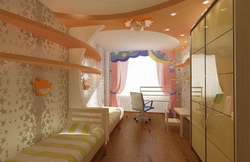 дизайн проект детской комнаты 1