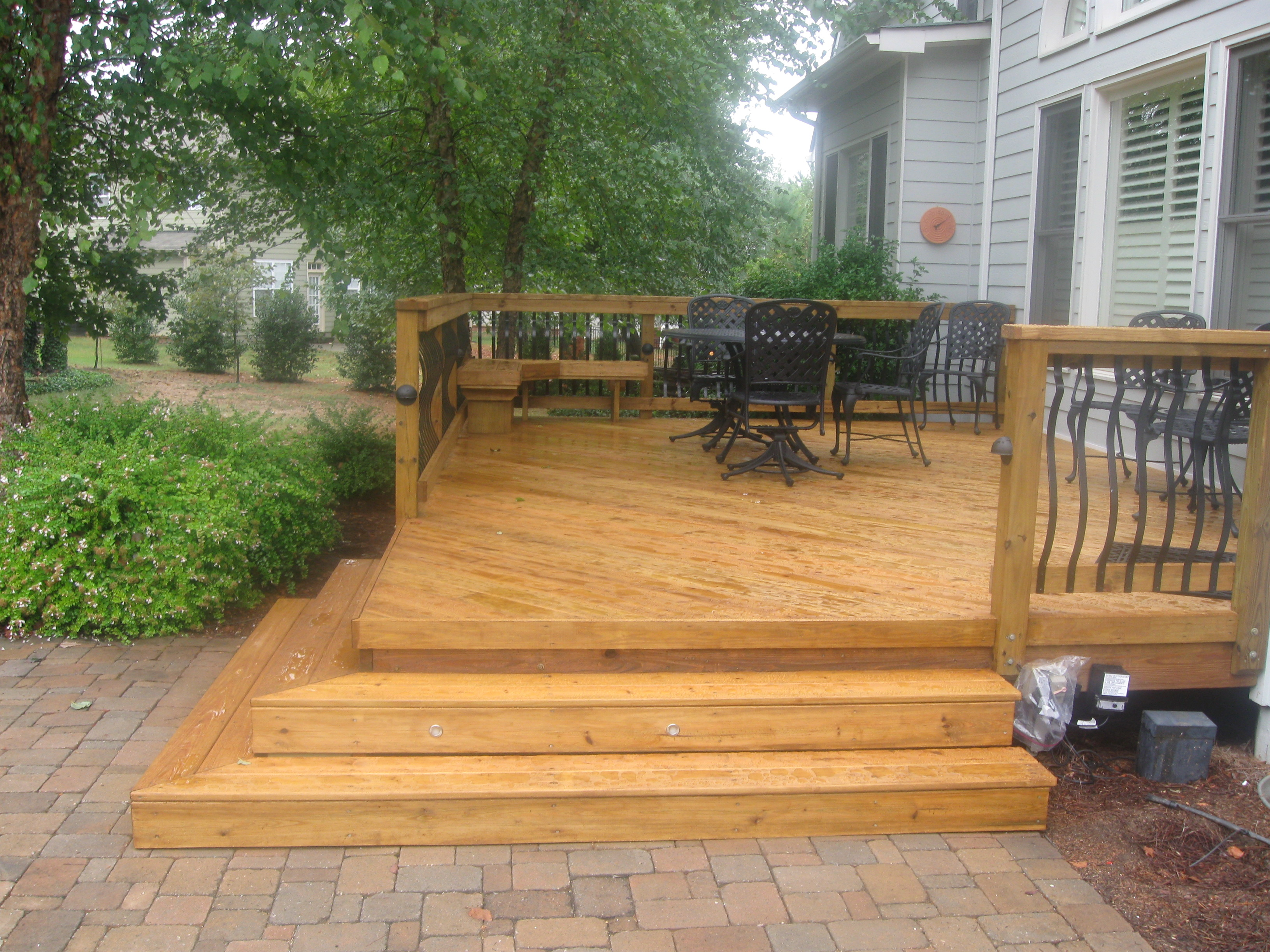 What Is The Price Difference Between Wood Decks And