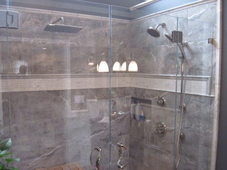 Value Remodelers designed and built this luxury shower