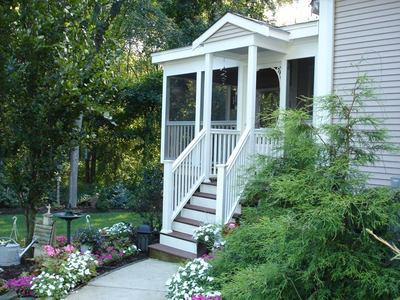 Deck And Porch Designs For Bungalow And Cottage Homes By