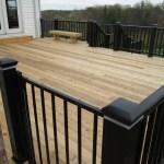 7 Deck Rail Ideas For Your Cedar Deck St Louis Decks Screened Porches Pergolas By Archadeck