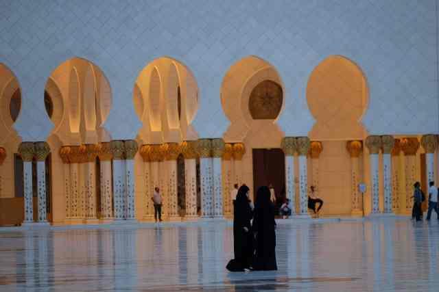Grand Mosque. Abu Dhabi, UAE.
