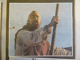 Singing on the Viking Longship in Lofoten