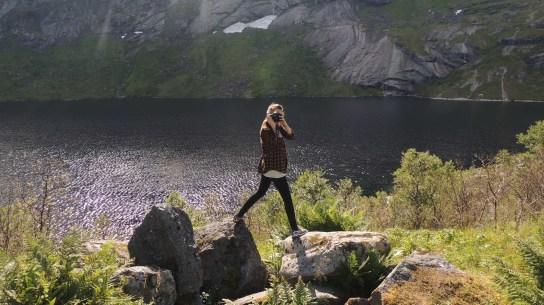Karianne Kaas; photo of a photo