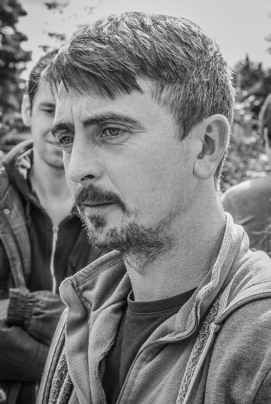 A Portrait of My colleague, IRC and fellow PhD Scholar, Brendan O'Niel