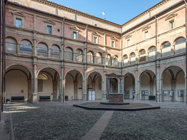 Courtyard of the University of Bologna