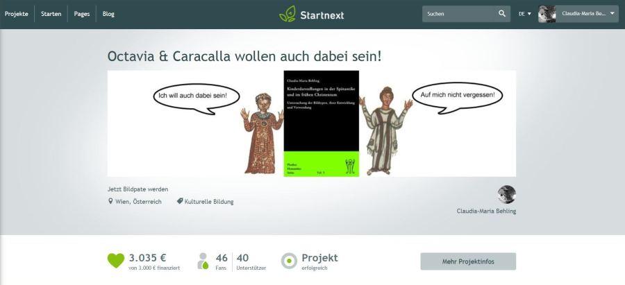 "Crowdfundingprojekt ""Bildpate"" – ein Rückblick"