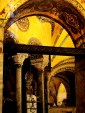 Interioor of massive Hagia Sophia on Istanbul Highlights walking tour by Archaeologous