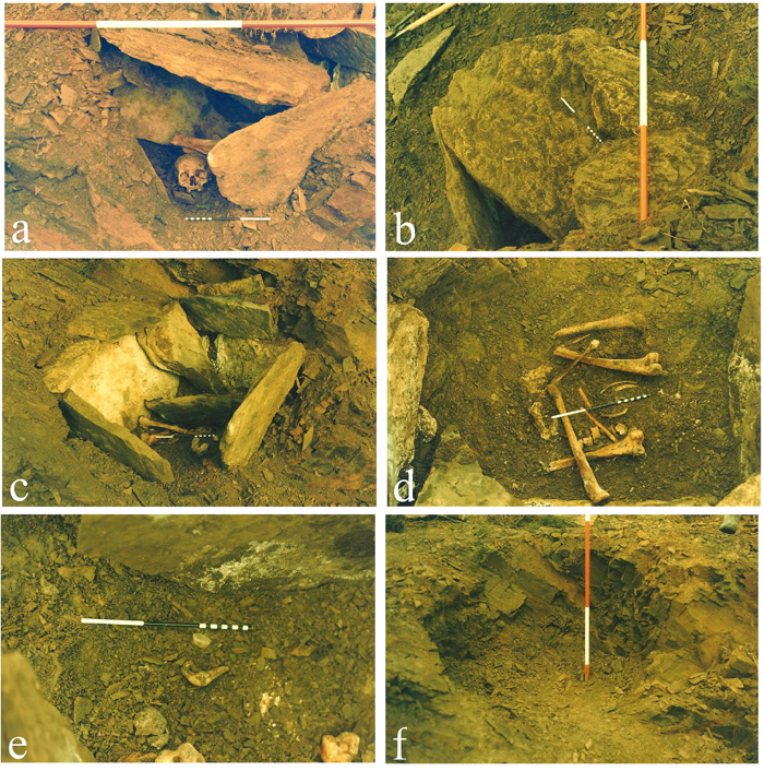 A selection of Robert Gourlay's photos of the excavation in the 1980s