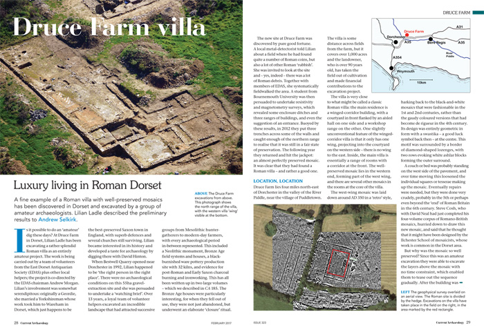 Article on Druce Farm villa