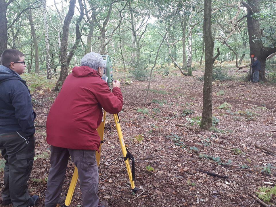 Topographic survey training