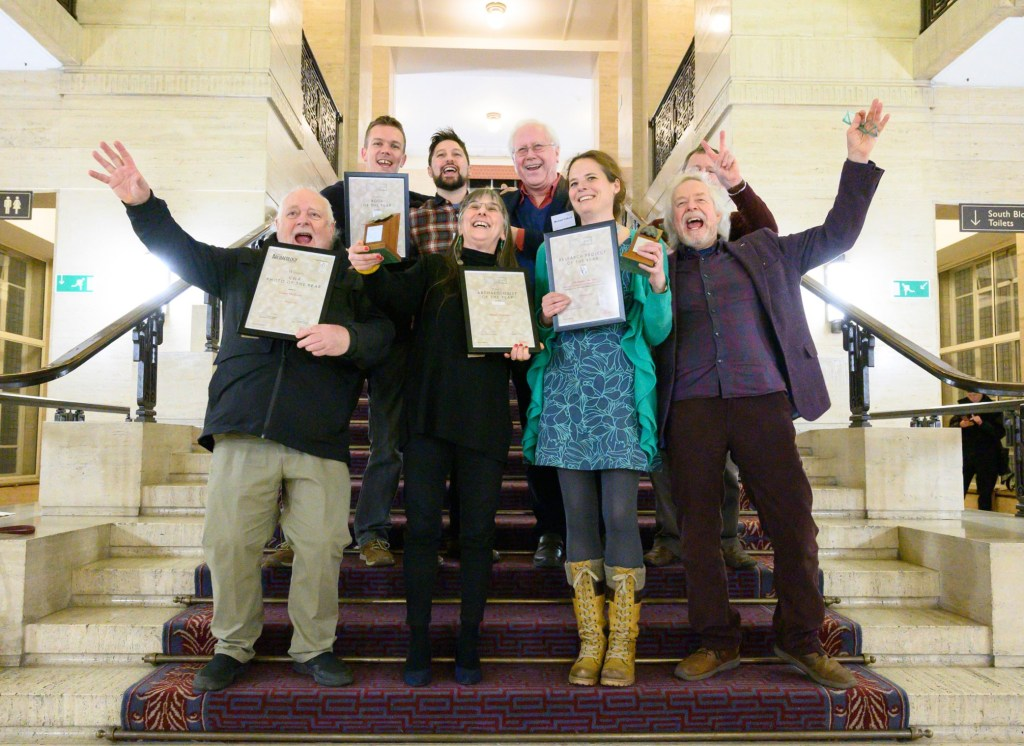 The winners of the Current Archaeology Awards 2020, and the Current World Archaeology Photo of the Year competition, at Senate House, London.