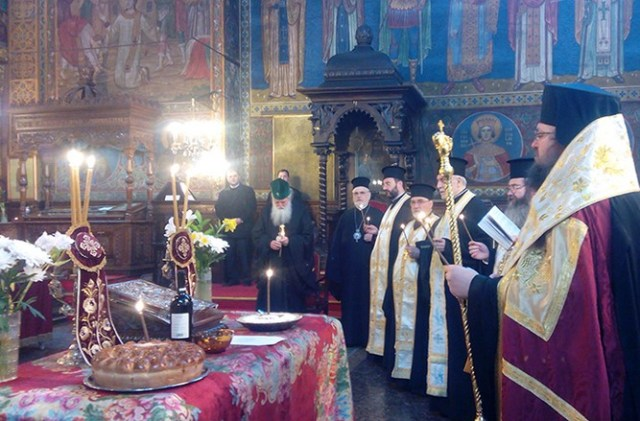 A memorial service was held at the St. Nedelya Cathedral in Sofia to honor the memory of 213 people killed in the same temple in the 1925 terrorist attack committed by the Bulgarian Communist Party at the order of the Soviet Union and the Comintern. Photo: St. Nedelya Cathedral website