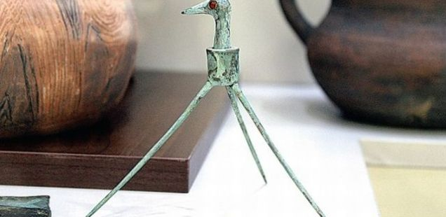 Bulgarian Archaeologists Stumble Upon 'Oldest Children's Toy in Europe': Late Bronze Age Thracian Toy Stork