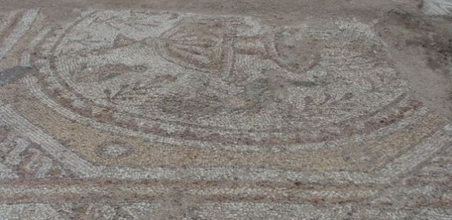 Bulgarian Archaeologists Reveal Beautiful Early Christian Floor Mosaics amidst Unpleasant Present-Day 'Finds' in Plovdiv's Great Basilica