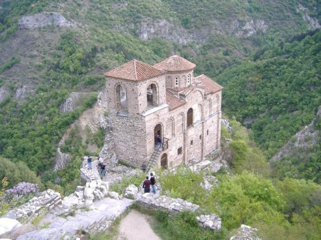 The famous medieval Church of the Holy Mother of God in Asen's Fortress (Asenova Krepost), a major historical and archaeological site in Bulgaria's Asenovgrad. Photo: Asen's Fortress Facebook Page