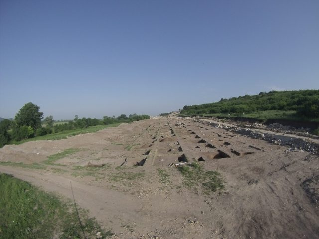 A Byzantine settlement from the 11th-12th century AD has been discovered and partly excavated as part of the rescue excavations along the route of the Maritsa Highway near the town of Velikan in Southern Bulgaria. Photo: Stanimir Stoychev