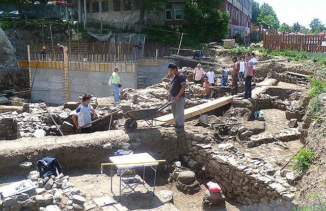 The Roman villa, whose ruins have been found in Bulgaria's Sapareva Banya, was located outside the fortress walls of the ancient city of Germania. Photo: Viara News.