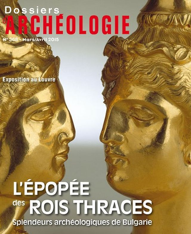 "The special issue of the French magazine ""Archaeological Files"" dedicated to Bulgaria's Ancient Thrace exhibit in the Louvre is ""The Saga of the Thracian kings. Archaeological Splendor of Bulgaria"". Photo: Archaeological Files"