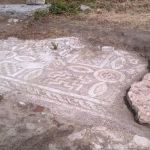 Bulgarian Archaeologists Uncover Further Lower Layer of Early Christian Mosaics at Plovdiv's Great Basilica