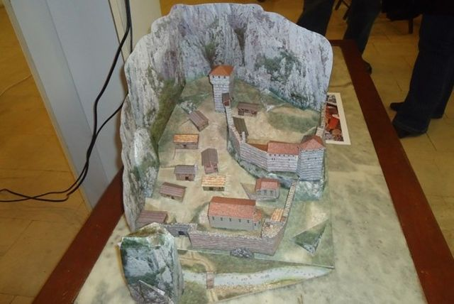 A 3D model built in 2014 of the innermost part of the Vratitsa (Gradishte) Fortress near Bulgaria's Vratsa. Photo: Vratsa Regional Museum of History