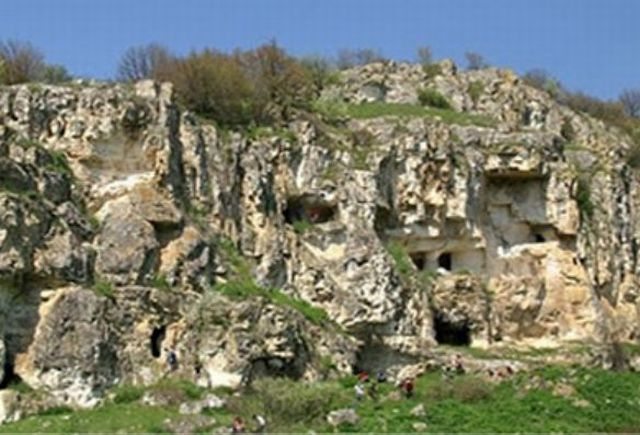 The Early Christian rock monastery near Bulgaria's Balik was inhabited by monks from the 5th-6th century AD until the 14th century AD. Photo: Krushari Municipality