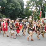 Bulgaria's Pomorie Opens Archaeological Exhibit with Historical Reenactment by Ancient Roman Legionnaires