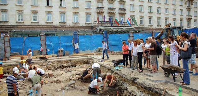 Archaeologists Discover Massive Roman Building from Ancient Serdica in Bulgaria's Capital Sofia