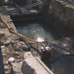 Broken Water Pipe Floods Newly Exposed Ruins of Ancient Roman Forum in Bulgaria's Plovdiv