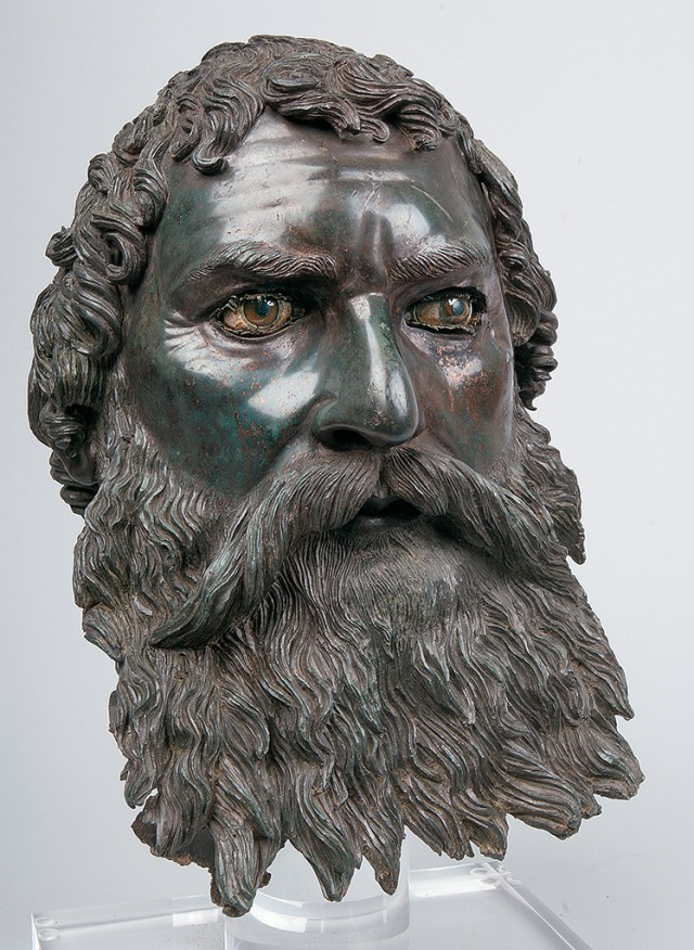 This beautiful photo of the bronze head sculpture of Ancient Thracian Odrysian King Seuthes III (r. ca. 331-ca. 300 BC) is featured on the website of the J. Paul Getty Museum in Los Angeles as part of its exhibit of Hellenistic sculptures. Unfortunately, the photo capture mentions neither Ancient Thrace, nor Bulgaria. Photo: Krasimir Georgiev/Bulgaria's Ministry of Culture