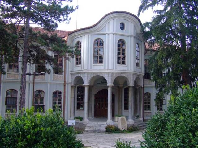 The building of the Museum of Bulgaria's National Revival and the Constituent Assembly of 1879 in Veliko Tarnovo. This is where in 1879, 229 deputies from all Bulgarian-populated regions of the Balkan Peninsula adopted the so called Tarnovo Constitution of the Third Bulgarian Tsardom, i.e. Bulgaria which had just been liberated from the Ottoman Empire in 1878. Photo: Veliko Tarnovo Regional Museum of History