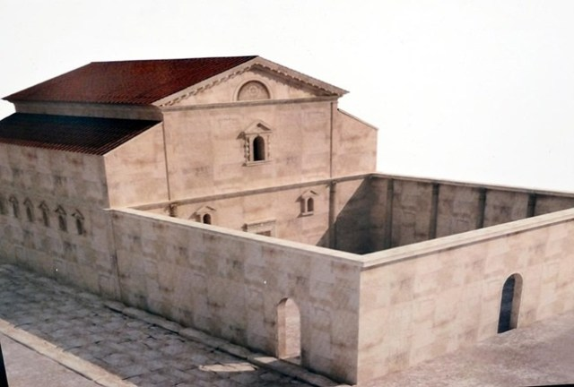 A virtual reconstruction of the Antiquity Synagogue in Bulgaria's Plovdiv. Photo: 24 Chasa daily