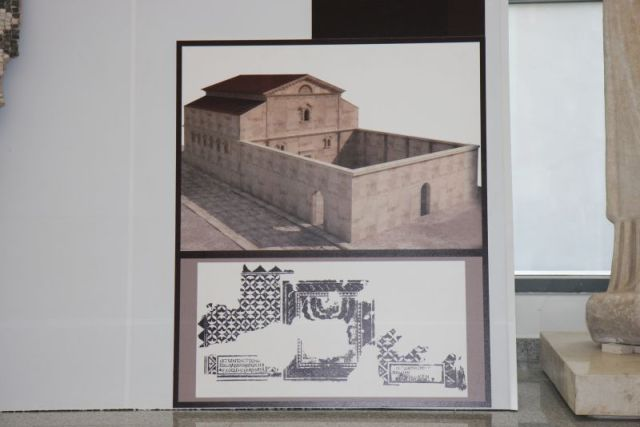 A virtual reconstruction of the Antiquity Synagogue in Bulgaria's Plovdiv. Photo: Plovdiv Online