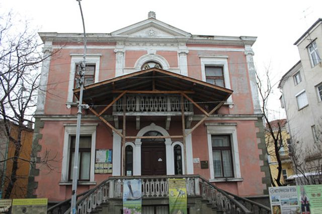 The building of the Burgas Museum of Natural History is a monument of culture built in 1896. Photo: Burgas Regional Museum of History