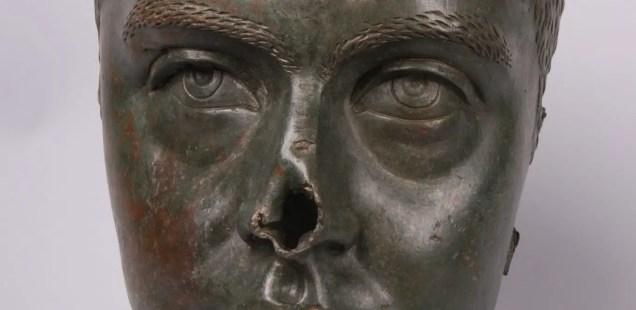 'Condemned' Bronze Head of Roman Emperor Gordian III from Nicopolis ad Istrum to Be Showcased by Bulgaria's Veliko Tarnovo