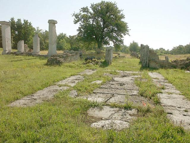 The ruins of the Ancient Roman city of Nicopolis ad Istrum near Bulgaria's Veliko Tarnovo. Photo: Ministry of Culture