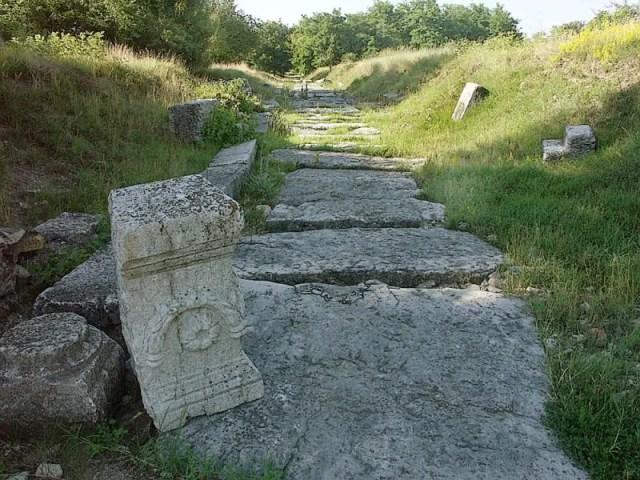The ruins of the Ancient Roman city of Nicopolis ad Istrum near Bulgaria's Nikyup and Veliko Tarnovo. Photo: Ministry of Culture