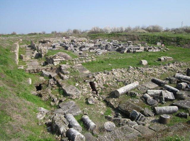 The ruins of the Ancient Roman colony Ulpia Oescus near Gigen, Gulyantsi Municipality, in Northern Bulgaria, a colony of Rome which had a population of 100,000 inhabitants at its height. Photo: Pleven District Administration