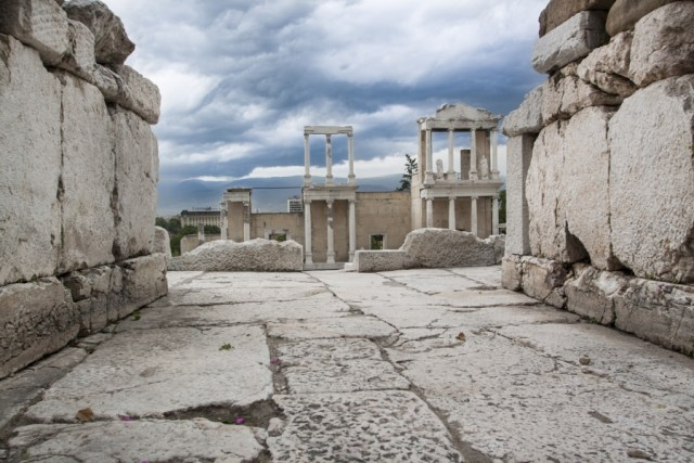 The Antiquity Amphitheater might be the most famous of Plovdiv's numerous impressive archaeological monuments. Photo: Old Plovdiv Municipal Institute